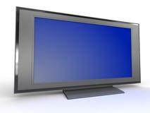 Televisione dell'affissione a cristalli liquidi Immagine Stock Libera da Diritti