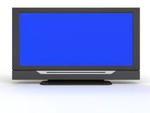 Televisione dell'affissione a cristalli liquidi Fotografia Stock Libera da Diritti