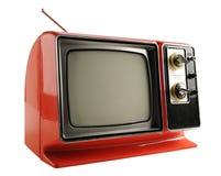 Televisione dell'annata Fotografie Stock