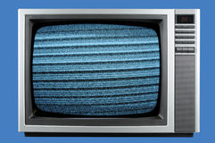 Televisione dell'annata Immagine Stock Libera da Diritti