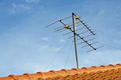 Televisione dell'antenna Fotografia Stock