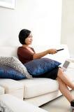 Televisione di sorveglianza Fotografie Stock
