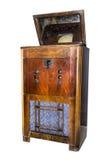 Televisione elettronica della console Produzione nel 1938 Fotografie Stock Libere da Diritti