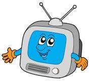 Televisione sveglia Immagine Stock