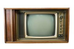 Televisiones del vintage Fotografía de archivo