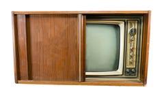 Televisiones del vintage Fotografía de archivo libre de regalías