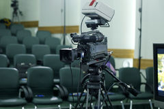 Televisionradioutsändning Royaltyfria Bilder