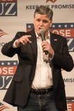 Televisions Fox News Sean Hannity Arkivbild