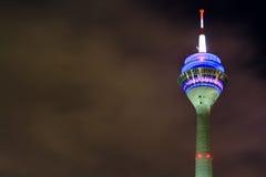 Televisiontorn i Dusseldorf Royaltyfri Bild