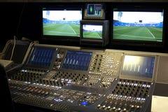 TelevisionTV-sändninggalleri Arkivbild