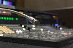 TelevisionTV-sändninggalleri Fotografering för Bildbyråer