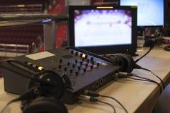TelevisionTV-sändninggalleri Arkivbilder