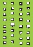Televisionuppsättning Arkivbilder
