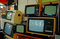 Televisor. The USSR Royalty Free Stock Photography