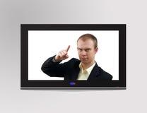 Televisore Immagine Stock
