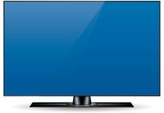 Televisore Edgeless di HD Fotografie Stock Libere da Diritti