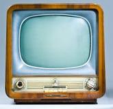 Televisore sovietico dell'eredità Fotografia Stock