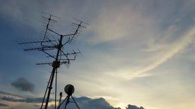 Telewizi antena Zdjęcia Stock