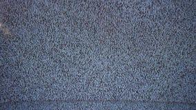 Telewizi tv hałasu sygnałowy ekran z ładunkiem elektrostatycznym powodował złym przyjęciem migotanie zdjęcie wideo
