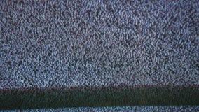 Telewizi tv hałasu sygnałowy ekran z statycznym migotaniem powodował a złym przyjęciem zbiory wideo