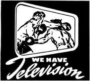 Telewizję Zdjęcie Royalty Free
