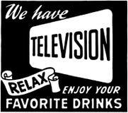 Telewizję 2 Zdjęcie Royalty Free