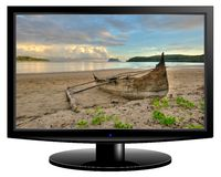 Telewizja ekran obraz royalty free