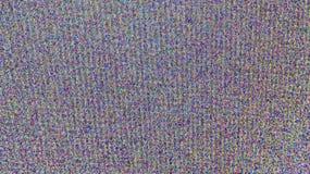 Telewizja ekran z statycznym hałasem zdjęcia royalty free