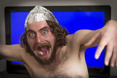 Telewizja Hipnotyzująca zdjęcia stock