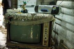 Telewizja i radio fotografia stock