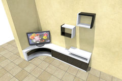 telewizor 3D Fotografia Royalty Free