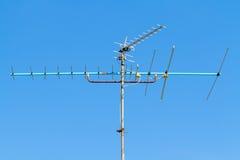 Telewizyjna antena Zdjęcia Royalty Free