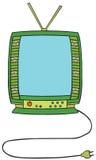 Telewizyjna Kreskówka ilustracja wektor