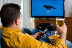 telewizyjny dopatrywanie Zdjęcie Stock