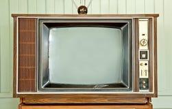 telewizyjny rocznik Zdjęcie Royalty Free