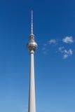 Telewizyjny wierza przy Alexanderplatz, Berlin, Niemcy Zdjęcie Stock