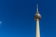 Telewizyjny wierza przy Alexanderplatz, Berlin, Niemcy Fotografia Stock