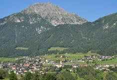 Telfes im Stubaital,Tirol,Austria Stock Image