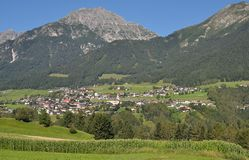 Telfes, Stubaital, Tirol, Österreich Lizenzfreies Stockfoto