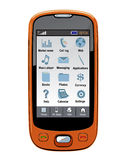 Teléfono celular del vector/PDA/GPS Fotos de archivo