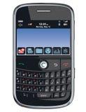 Teléfono celular del vector/PDA/zarzamora Foto de archivo