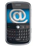 Teléfono celular del vector/PDA/zarzamora Imagen de archivo