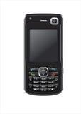 Teléfono celular en blanco Imágenes de archivo libres de regalías