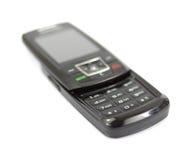Teléfono celular negro Fotografía de archivo