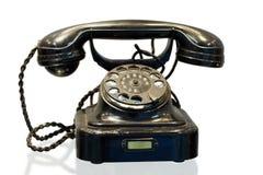 Teléfono de la mesa del sistema de cambio de teléfono automático Imagen de archivo