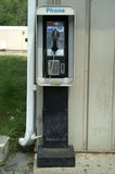 Teléfono de paga Fotos de archivo