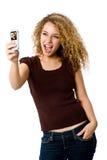 Teléfono del cuadro Foto de archivo libre de regalías