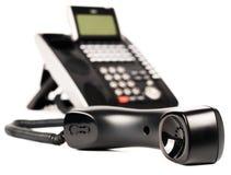 Teléfono digital de la oficina off-hook Imagen de archivo libre de regalías