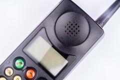 Teléfono móvil del vintage negro Imagenes de archivo