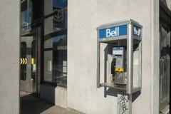 Teléfono público de Bell Imágenes de archivo libres de regalías